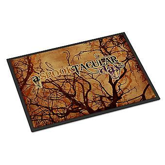 Een Spook Tacular dag Halloween Indoor of Outdoor Mat 18 x 27 deurmat