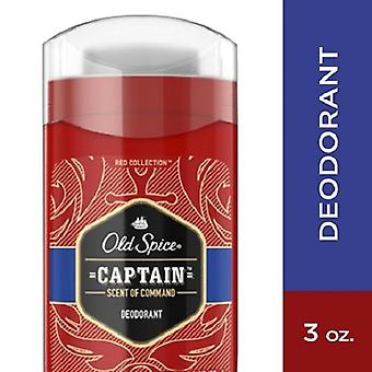 Old Spice Red Collection Captain Scent of Command Deodorant