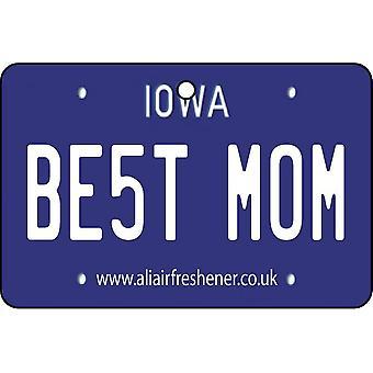 Iowa - beste moeder kenteken auto luchtverfrisser