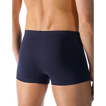 Mey 49021-668 Men's Casual Cotton Blue Solid Colour Fitted Boxer