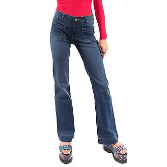 Mid Rise Flared Bootcut Jeans