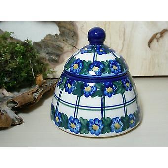 Zucker- / Marmeladendose, Unikat 50 - Bunzlauer Keramik Geschirr - BSN 6612