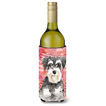 Hou een Schnauzer #2 fles wijn Beverge isolator Hugger