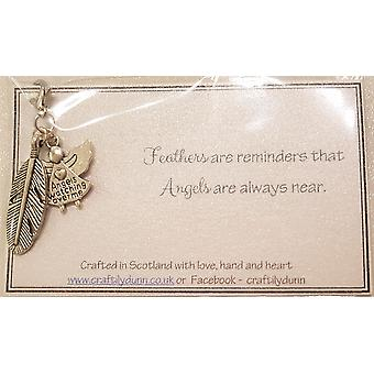 Angel Memorial Card V1 by Craftilydunn