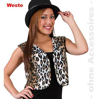 Leopard kvinners villkatt kostyme predator katter vest kvinners drakt