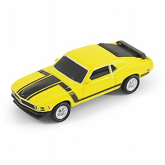 Ford Mustang Boss 302 auto USB Memory Stick 8Gb - Geel