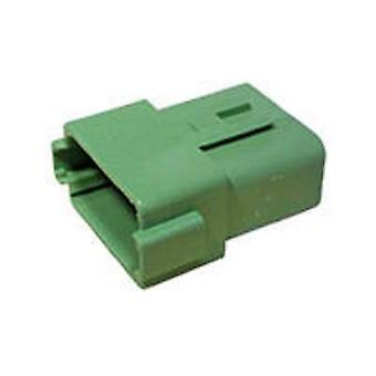 TE Connectivity DT04-12PC Bullet connector Plug, straight Series (connectors): DT Total number of pins: 12 1 pc(s)