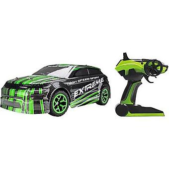 Amewi 22215 Rallye AM-5 1:18 RC model car for beginners Electric Road version 4WD Incl. batteries and charger