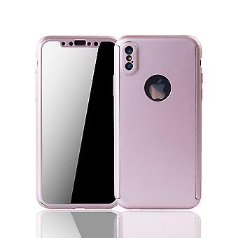 Omena iPhone X-KIRJAIN soittaa puhelimella asia suojata asia ml;mellinen kansi akvaario suojelus lasinen ruusu