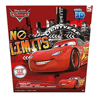Disney Cars 4in1 3D Puzzel