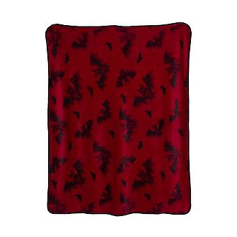 Sourpuss Clothing Bat Attack Blanket