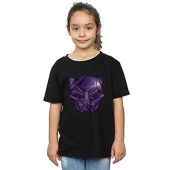 Marvel Girls Avengers Infinity War Black Panther geometrické tričko