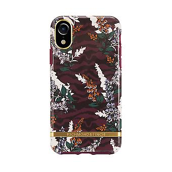 Richmond & Finch shells voor IPhone X/XS-Floral Zebra
