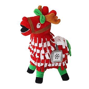 Fortnite, Supply Llama Stuffed Animals - Rudolf