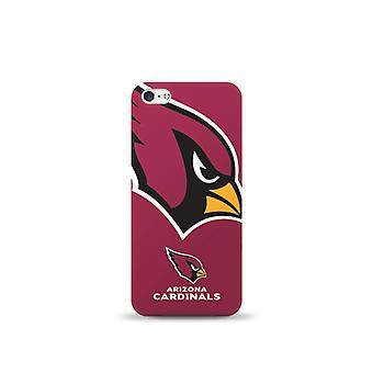 Mizco Sports NFL Oversized Snapback TPU Case for Apple iPhone 5 / 5S / SE (Arizona Cardinals)
