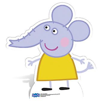 Emily Elefant Lifesize Papp Cutout / Standee - Peppa Gris
