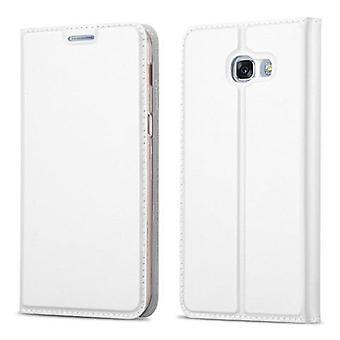 Cadorabo Hülle für Samsung Galaxy A3 2017 hülle case cover - Handyhülle mit Magnetverschluss, Standfunktion und Kartenfach – Case Cover Schutzhülle Etui Tasche Book Klapp Style