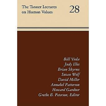 The Tanner Lectures - Volume 28 by Grethe B Peterson - 9780874809671