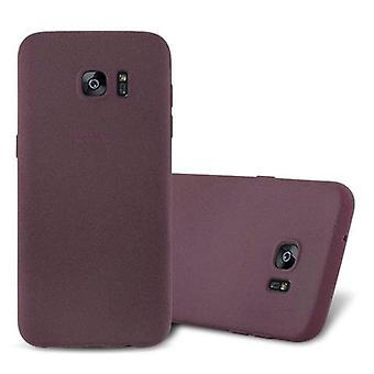 Cadorabo Case for Samsung Galaxy S7 EDGE Case Cover - Flexible TPU Silicone Case Case Ultra Slim Soft Back Cover Case Bumper