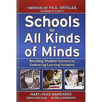 Scuole per tutti i tipi di mente: amplificazione studente successo abbracciando la variazione di apprendimento