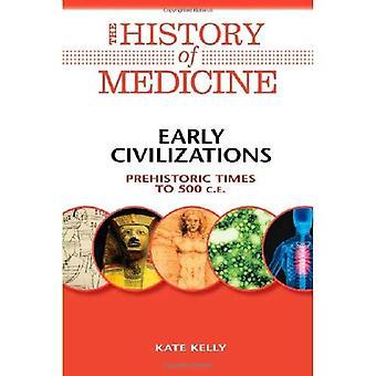 Tidiga civilisationer: Förhistorisk tid till 500 C.E. (historia av medicinen)