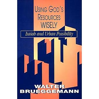 Käyttämällä jumalat resurssit viisaasti Brueggemann & Walter