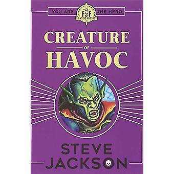 ファイティングファンタジー-スティーヴ・ジャクソンによる大惨事のクリーチャー-9781407186184