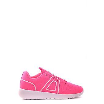 Asfvlt Ezbc205003 Herren's Fuchsia Stoff Sneakers