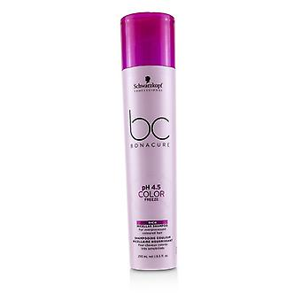 Schwarzkopf Bc Bonacure Ph 4.5 Color Freeze Rich Micellar Shampooing (pour les cheveux colorés surtraités) - 250ml/8.5oz