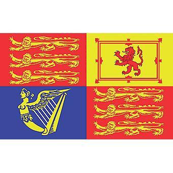 5ft x 3ft Flag - UK - Royal Standard