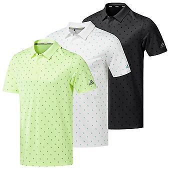 Adidas Golf heren kern bedrukt Polo shirt