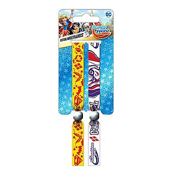 DC Super Hero Girls Festival Armband set