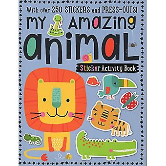 My Amazing Animal Sticker Activity Book - 9781786920140 Book