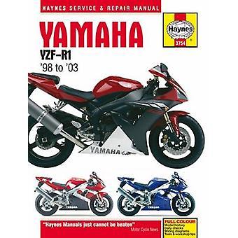 Yamaha YZF-R1 Motorcycle Repair Manual by Anon - 9781785213427 Book