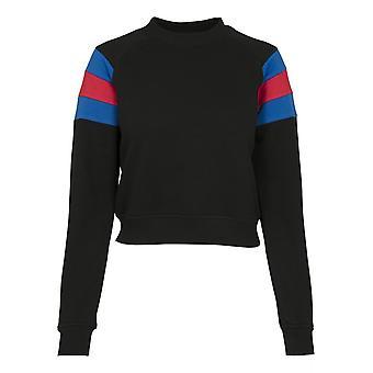 Urban Classics Damen Sweatshirt Sleeve Stripe Crew