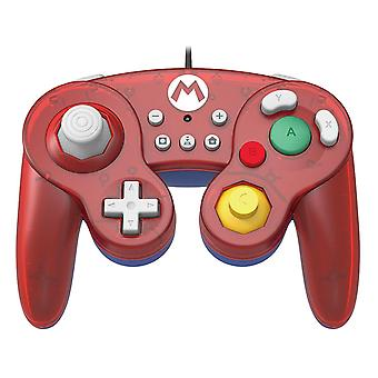 Hori Battle pad GameCube stil controller Mario til Nintendo switch