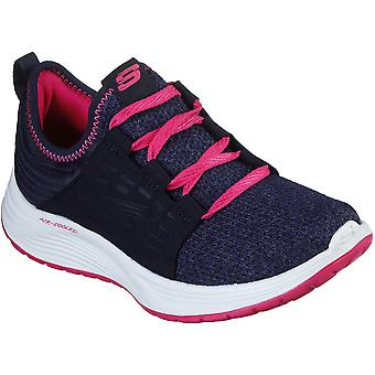 Skechers Girls Skyline Slip On Sporty Active Trainers