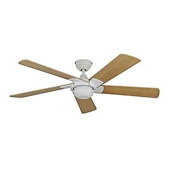 """Ceiling fan ROTARY 132cm / 52"""" White Beech with remote"""