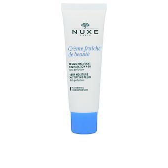 NUXE crème fraiche de Beauté Fluide Matifiant Hidratation 48u voor vrouwen