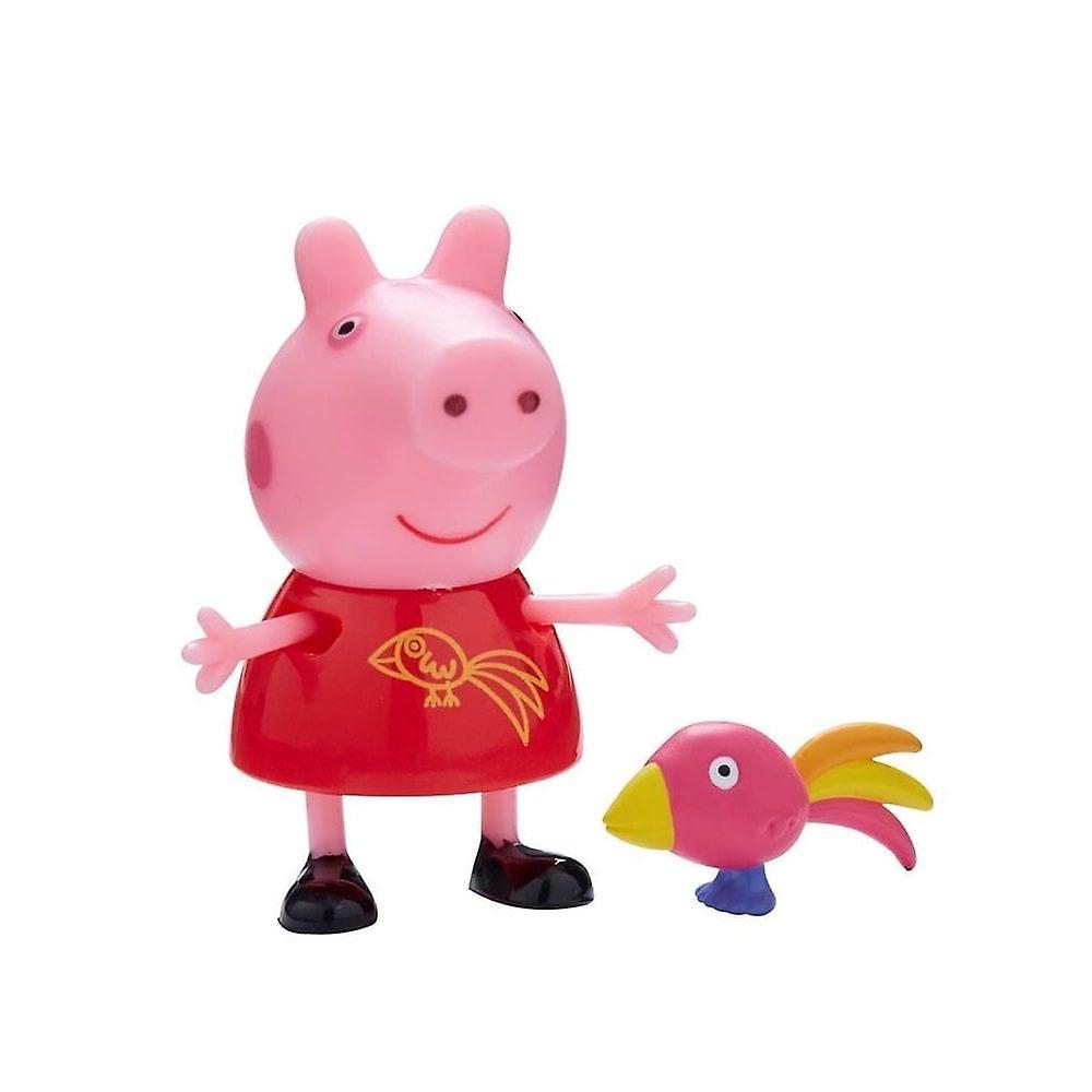 Peppa Pig Pals & hus djur (peppa & Bird) Toy set