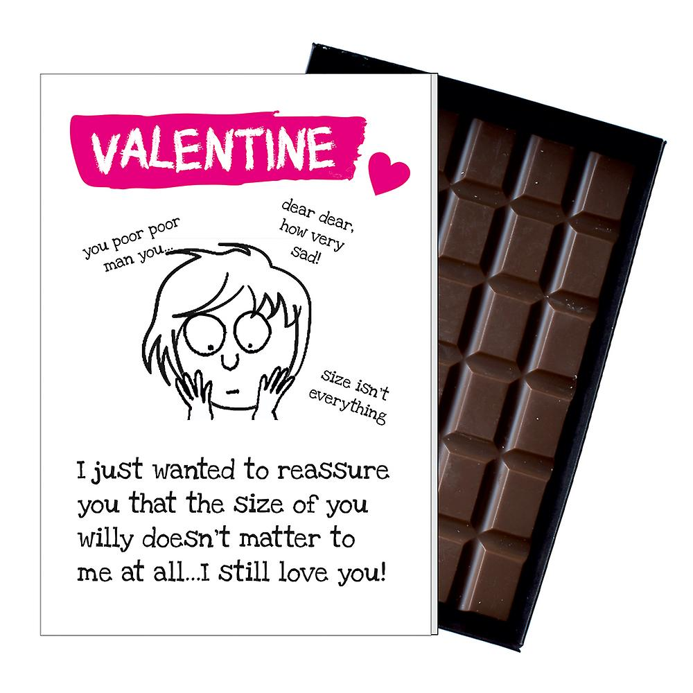 Funny Valentines Day Gift For Boyfriend Husband Man Rude Chocolate Greeting Card Present ODV220