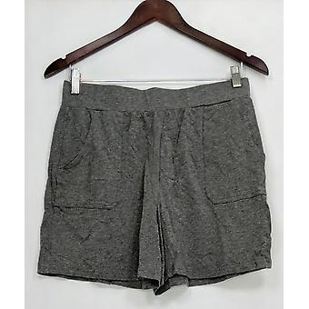 Anybody Women's Shorts Loungewear Cozy Knit Pull-on Gray A306954