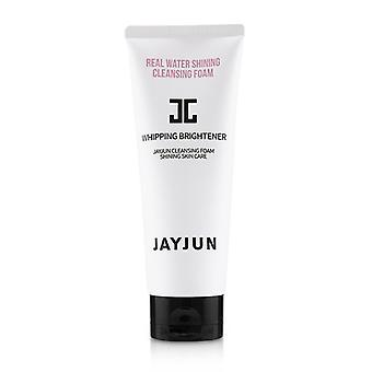 Jayjun Real Water Shining Cleansing Foam - Whipping Brightener - 150ml/5.07oz
