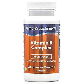 Vitamin-b-complex - 360 tabletter