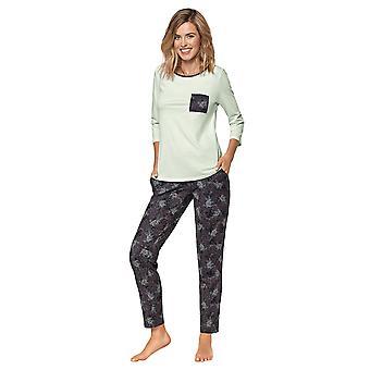 Nipplex Women-apos;s Luciana Graphite Grey Pyjama Set
