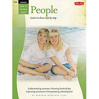 People with Debra Yaun: Learn to Draw Step by Step (How to Series: Drawing Series)