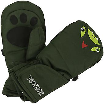 Regatta Boys & Girls Spatter Mitts III Waterproof Warm Winter Gloves