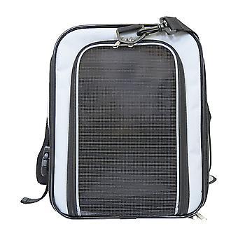 Roulez sur l'image pour zoomer dans Charles Bentley Pet Dog Pet Dog Travel Car Bag Carrier avec bretelle - Transport - Léger en gris
