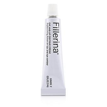 Fillerina Eye & Lip Contour Cream - Grade 2 - 15ml/0.5oz