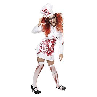 Cuisine de l'enfer Womens sanglant Chef Fancy Dress Costume